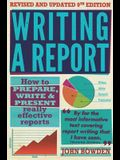 Writing a Report: 9th edition