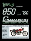 Norton 850 and 750 Commando Workshop Manual All Models from 1970 to 1975 (Part Number 06-5146)