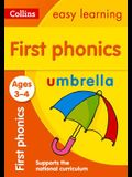 First Phonics: Ages 3-4