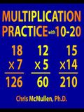 Multiplication Practice with 10-20: Improve Your Math Fluency Worksheets