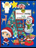 Christmas Coloring Book: Adoring Christmas Coloring Book, a wonderful and perfect gift for Kids