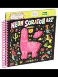 Neon Scratch Art