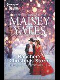 Rancher's Christmas Storm: A Western Snowbound Romance