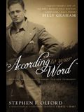 According to Your Word: Morning and Evening Through the New Testament, A Collection of Devotional Journals 1940-1941