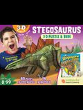 Stegosaurus: 3D Puzzle and Book [With Book(s)]
