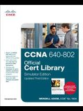 CCNA 640-802 Official Cert Library, Simulator Edition [With DVD]