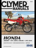 Honda Xr600r - 1991-2000 & Xr650l - 1993-2019 Clymer Manual: Maintenance - Troubleshooting - Repair