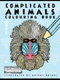 Complicated Animals: Colouring Book
