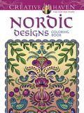 Creative Haven: Nordic Designs Coloring Book