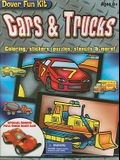 Cars & Trucks: Coloring, Stickers, Puzzles, Stencils & More! [With StickersWith CrayonsWith StencilsWith Paperback Coloring Books]