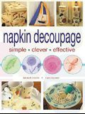 Napkin Decoupage: Simple Clever Effective
