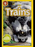 Trains (4 Paperback/1 CD)
