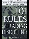 101 Rules of Trading Discipline
