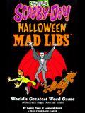 Scooby-Doo Halloween MAD LIBS