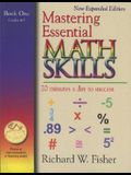 Mastering Essential Math Skills Book One, Grades 4-5: 20 Minutes a Day to Success