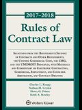 Rules of Contract Law, 2017-2018 Statutory Supplement