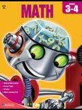 Brighter Child Book of Math, Grades 3-4