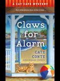 Claws for Alarm: A Cat Café Mystery