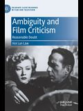 Ambiguity and Film Criticism: Reasonable Doubt