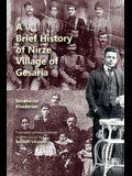 A Brief History of Nirze Village of Gesaria