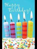 Birthday Candles & Cake Postcard (Pkg of 25)