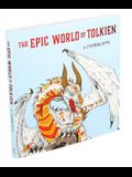 The Epic World of Tolkien: A Coloring Book