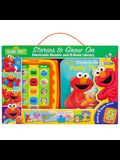 Sesame Street: Stories to Grow on: Me Reader Jr: 8-Book Library and Electronic Reader [With Electronic Reader and Battery]