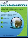 Math Mammoth, Grade 5 Tests and Cumulative Reviews (Light Blue Series) (2015)