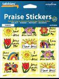 Stickers-Tabbies Praise Sticke: Jesus Love Children's Praise Stickers