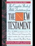 Complete Book of Bible Quotes from the New Testament