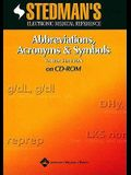 Stedman's Abbreviations, Acronyms & Symbols on CD-ROM