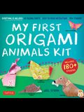 My First Origami Animals Kit: [origami Kit with Book, 60 Papers, 180] Stickers, 17 Projects]