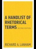 A Handlist of Rhetorical Terms