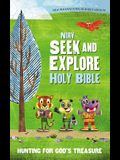 NIRV Seek and Explore Holy Bible, Hardcover: Hunting for God's Treasure