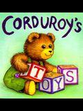 Corduroy's Toys