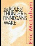 Role of Thunder in Finnegans W