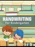 Handwriting for Kindergarten: Handwriting Practice Books for Kids