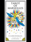 Tarot of Marseilles: 78 Cards in Full Color