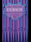 J. S. Bach, Volume One
