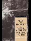 War and Society in Early Modern Europe: 1495-1715