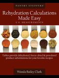 Pantry Stuffers Rehydration Calculations Made Easy: U.S. Measurements / Pantry Stuffers Rehydration Calculations Made Easy: Metric Measurements