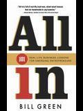All in: 101 Real Life Business Lessons For Emerging Entrepreneurs