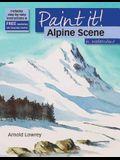 Alpine Scene in Watercolour