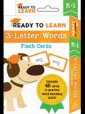 Ready to Learn: K-1 3-Letter Words Flash Cards: Includes 48 Cards to Practice Word Decoding Skills!
