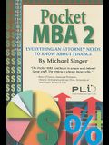 Pocket MBA 2: Everything an Attorney Needs to Know about Finance