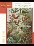 Ernst Haeckel Hummingbirds 300 Piece Jigsaw Puzzle