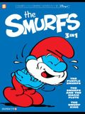 The Smurfs 3-In-1 #1: The Purple Smurfs, the Smurfs and the Magic Flute, and the Smurf King