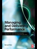 Managing and Delivering Performance