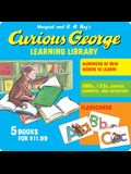 Curious George Learning Library [With Flash Cards]