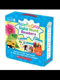 Nonfiction Sight Word Readers: Guided Reading Level B (Parent Pack): Teaches 25 Key Sight Words to Help Your Child Soar as a Reader!